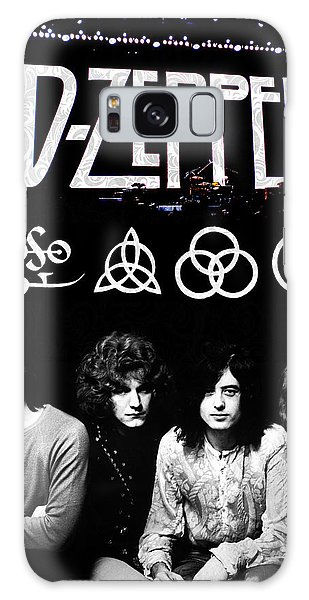 Rock And Roll Galaxy S8 Case - Led Zeppelin by FHT Designs