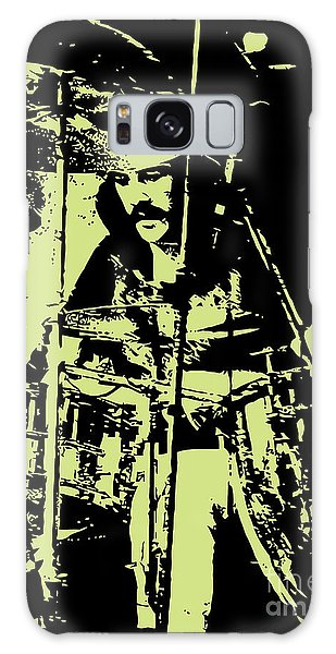 Drum Galaxy S8 Case - Led Zeppelin No.05 by Fine Artist