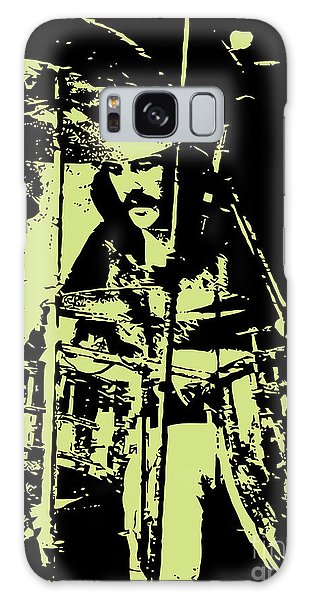 Drum Galaxy S8 Case - Led Zeppelin No.05 by Geek N Rock