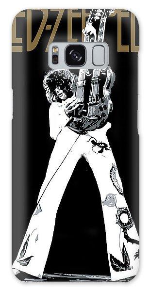 Led Zeppelin Galaxy S8 Case - Led Zeppelin No.06 by Fine Artist