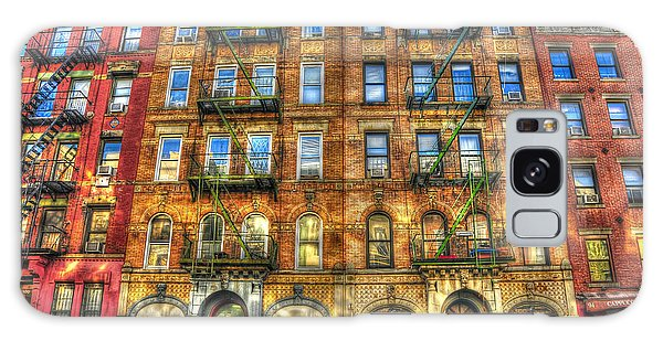 Rock And Roll Galaxy S8 Case - Led Zeppelin Physical Graffiti Building In Color by Randy Aveille
