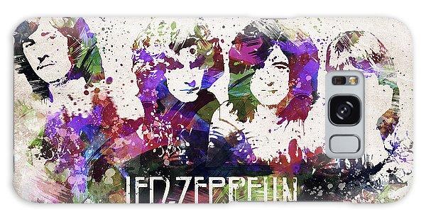 Led Zeppelin Galaxy S8 Case - Led Zeppelin Portrait by Aged Pixel