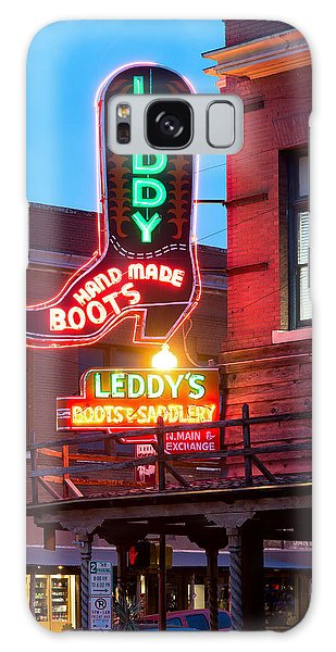 Leddy Hand Made Boots 031315 Galaxy Case