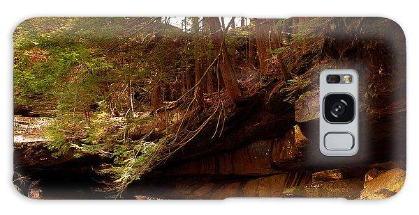 Ledges Of Cedar Falls Galaxy Case