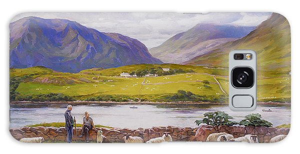 Leenane. Ireland. Galaxy Case