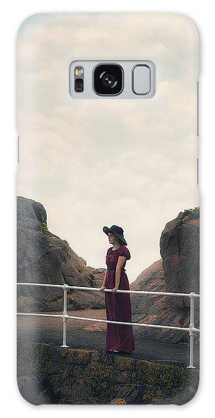 Handrail Galaxy Case - Left Alone by Joana Kruse