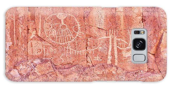 Petroglyphs Owens Valley California Galaxy Case