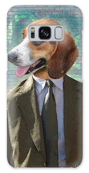 Bricks Galaxy Case - Legal Beagle by Nikki Smith