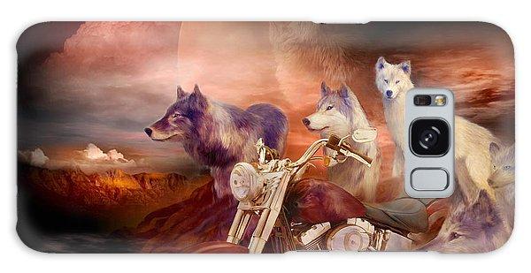 Legend Of Wolf Mountain Galaxy Case