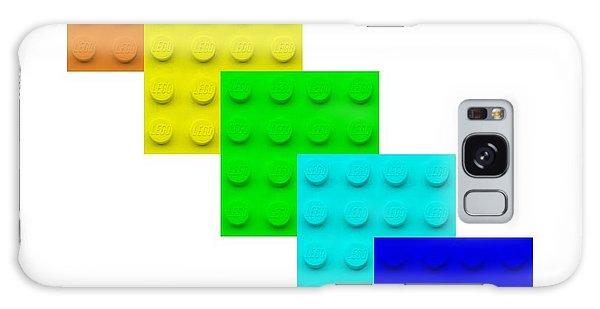 Galaxy Case - Lego Box White by Rob Hans