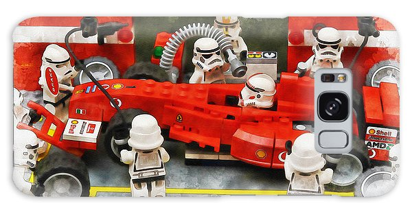 Lego Pit Stop Galaxy Case