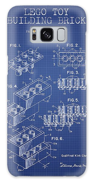 Patent Galaxy Case - Lego Toy Building Brick Patent From 1961 - Blueprint by Aged Pixel