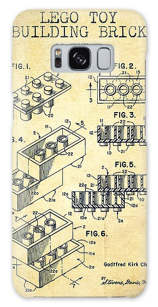 Patent Galaxy Case - Lego Toy Building Brick Patent - Vintage by Aged Pixel