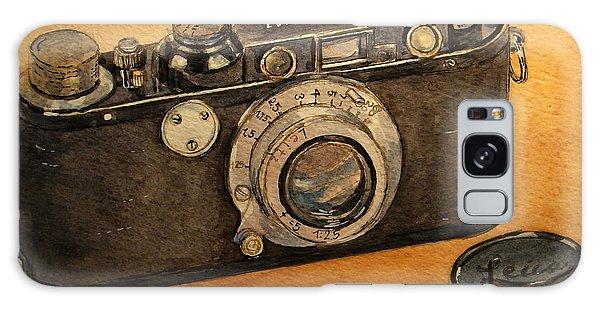 Camera Galaxy Case - Leica II Camera by Juan  Bosco