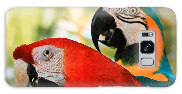 Macaw Galaxy Case - Lele by Sharon Mau