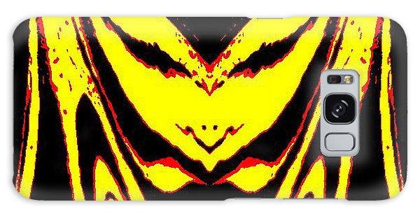 Lemon Face Galaxy Case