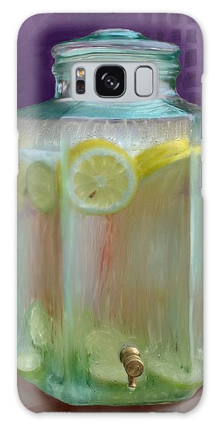 Lemon Limeade Galaxy Case by Ric Darrell