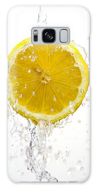 Lemon Splash Galaxy Case