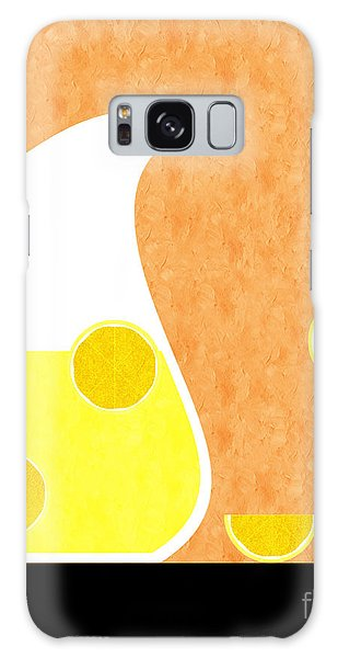 Lemonade And Glass Orange Galaxy Case