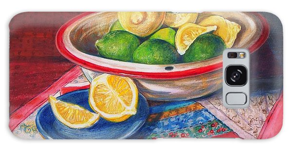 Lemons And Limes Galaxy Case