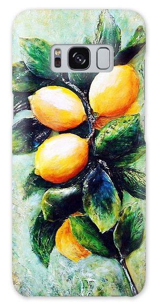 Lemons In Sunshine Galaxy Case