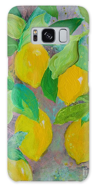 Lemons On Lemon Tree Galaxy Case