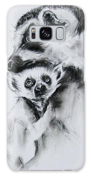 Lemurs  Galaxy Case by Jean Cormier