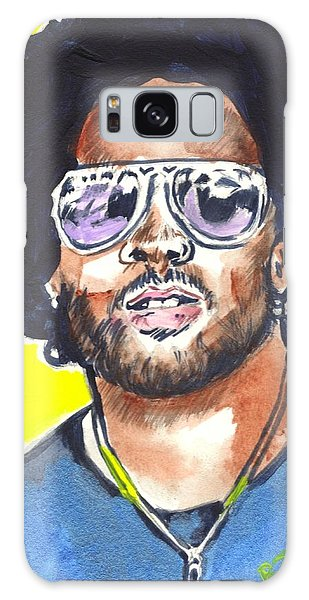 Lenny Kravitz Galaxy Case by Bryan Bustard