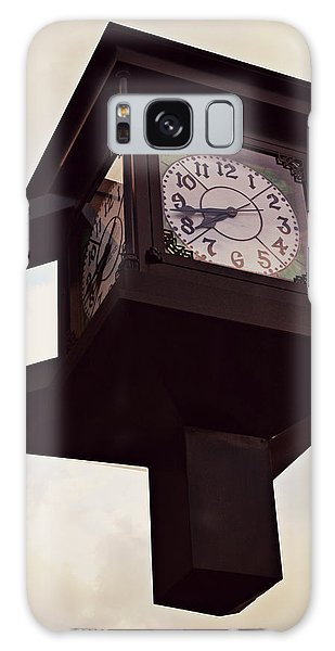 Lenoir North Carolina Town Clock Galaxy Case