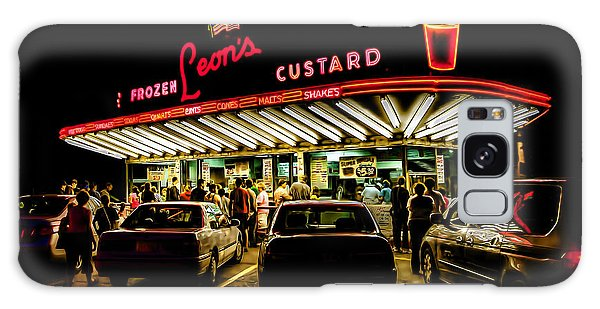 Glow Galaxy Case - Leon's Frozen Custard by Scott Norris