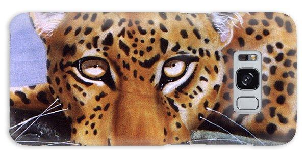 Leopard In A Tree Galaxy Case