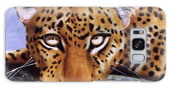 Leopard In A Tree Galaxy Case by Thomas J Herring