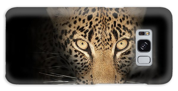 Leopard In The Dark Galaxy Case by Johan Swanepoel