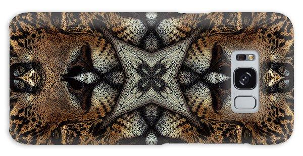 Leopard Kaleidoscope  Galaxy Case