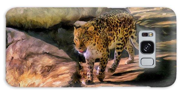 Leopard Galaxy Case by Michael Pickett