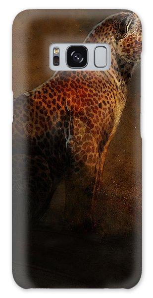Leopard Galaxy S8 Case - Leopard Portrait by Aaron Blaise