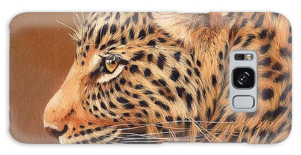 Leopard Portrait Galaxy Case