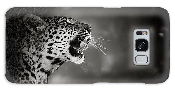 Outdoors Galaxy Case - Leopard Portrait by Johan Swanepoel