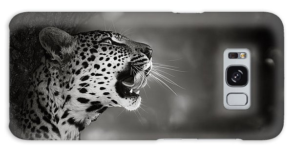 Wildlife Galaxy Case - Leopard Portrait by Johan Swanepoel