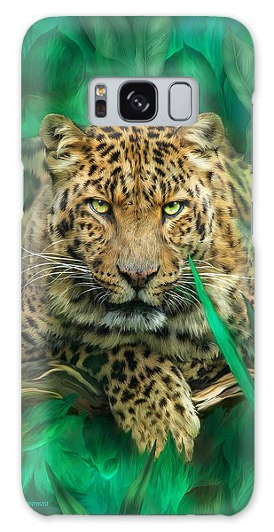 Leopard - Spirit Of Empowerment Galaxy Case