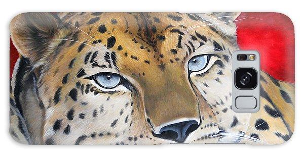 Leopardo Galaxy Case by Angel Ortiz