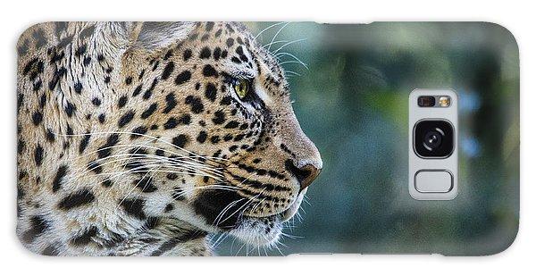 Leopard's Look Galaxy Case by Jaki Miller