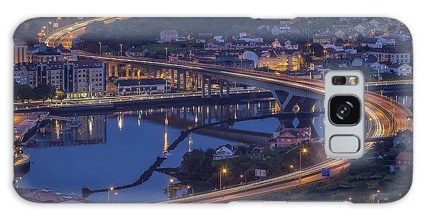 Lerez River Pontevedra Galicia Spain Galaxy Case