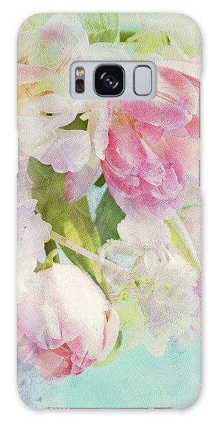 Les Fleurs Galaxy Case by Theresa Tahara