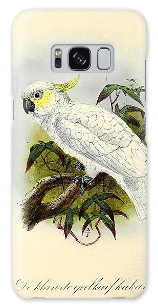 Lesser Cockatoo Galaxy Case by Dreyer Wildlife Print Collections
