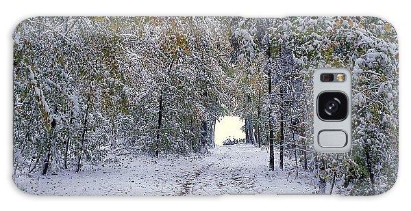 Let It Snow Galaxy Case by Felicia Tica