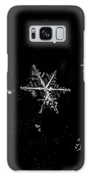 Let It Snow Galaxy Case by Sara Frank