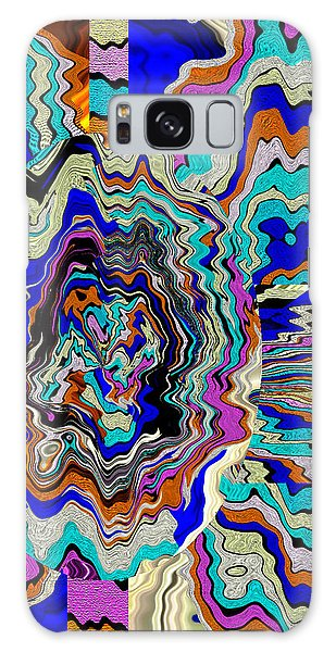 Original Abstract Art Painting Let Life Bloom Galaxy Case