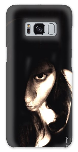 Let The Darkness Take Me Galaxy Case by Vicki Spindler
