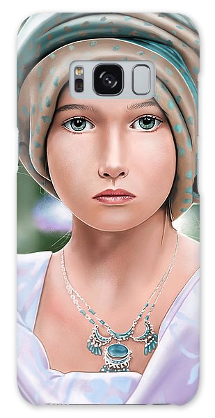 Girl With A Pearl Earring Galaxy Case - Let The Light Shine by Andrew Harrison